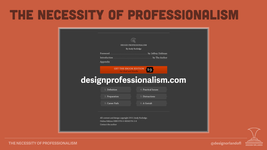 @designorlandofl THE NECESSITY OF PROFESSIONALIS...