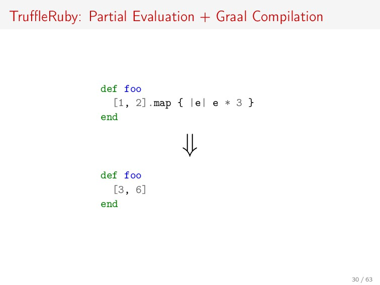 TruffleRuby: Partial Evaluation + Graal Compilati...