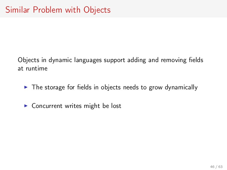 Similar Problem with Objects Objects in dynamic...