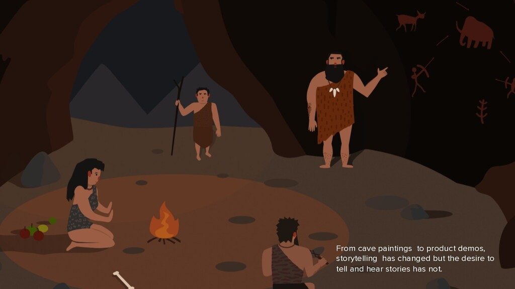 From cave paintings to product demos, storytell...