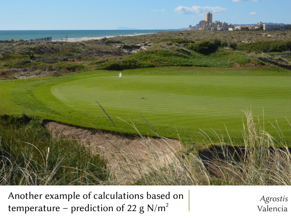 Agrostis Valencia Another example of calculatio...