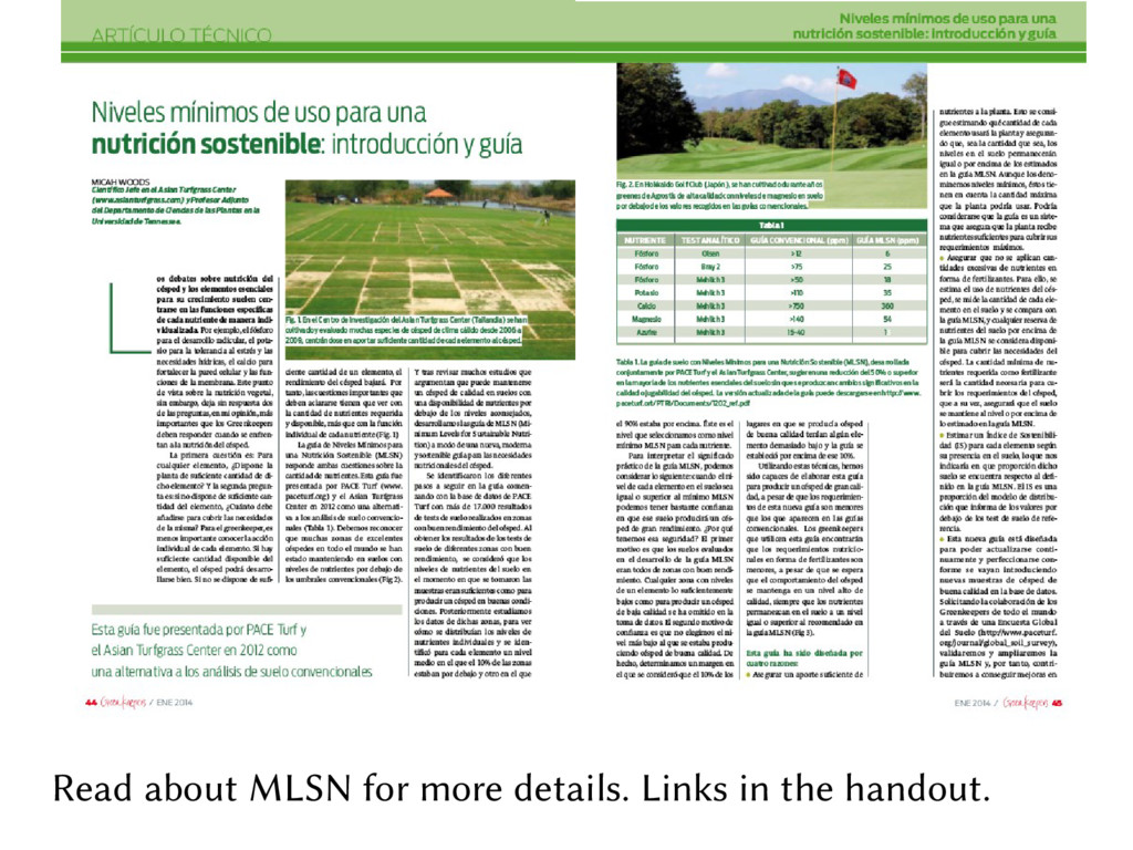 Read about MLSN for more details. Links in the ...