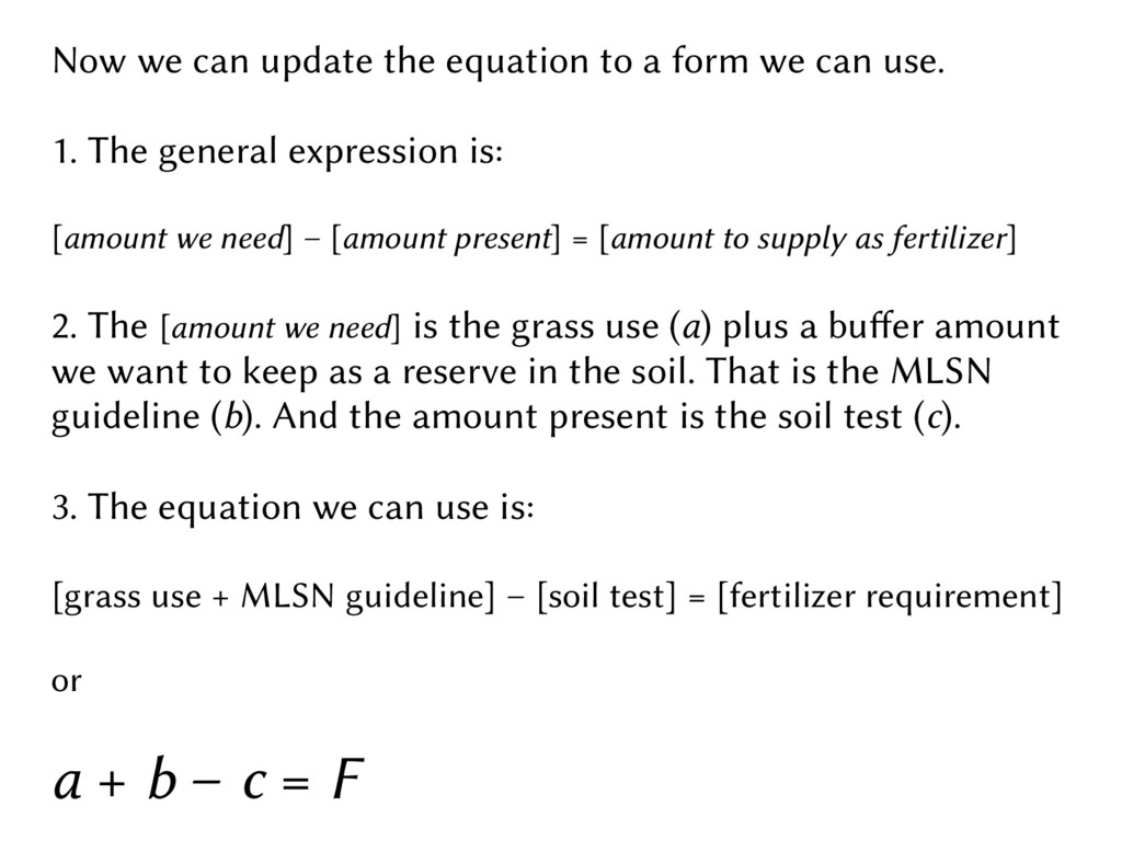Now we can update the equation to a form we can...