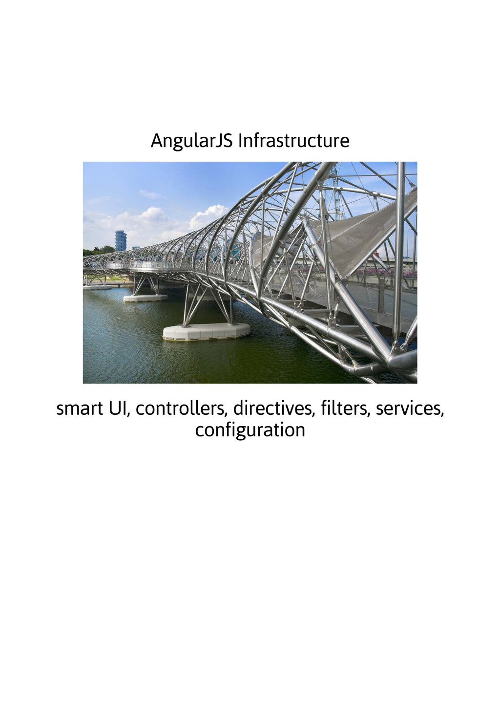 AngularJS Infrastructure smart UI, controllers,...