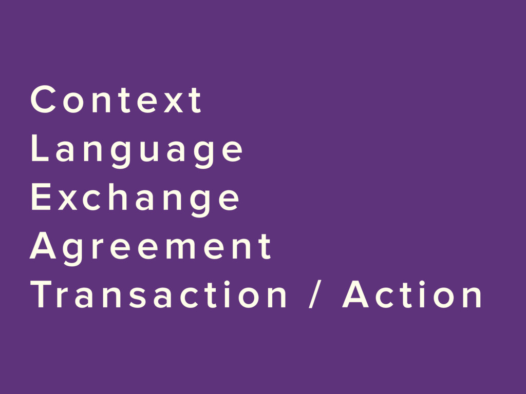 Context Language Exchange Agreement Transaction...