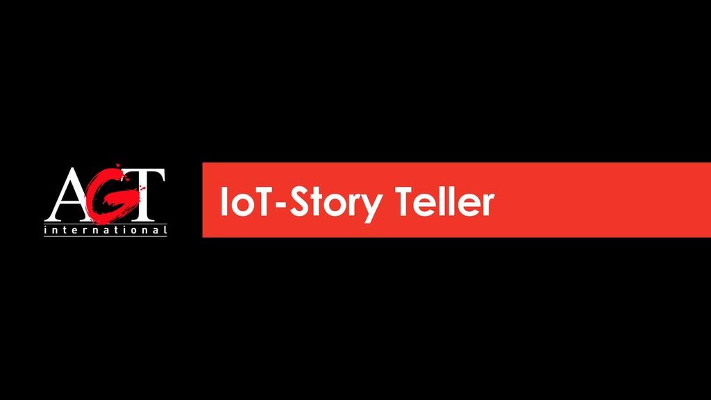 IoT-Story Teller