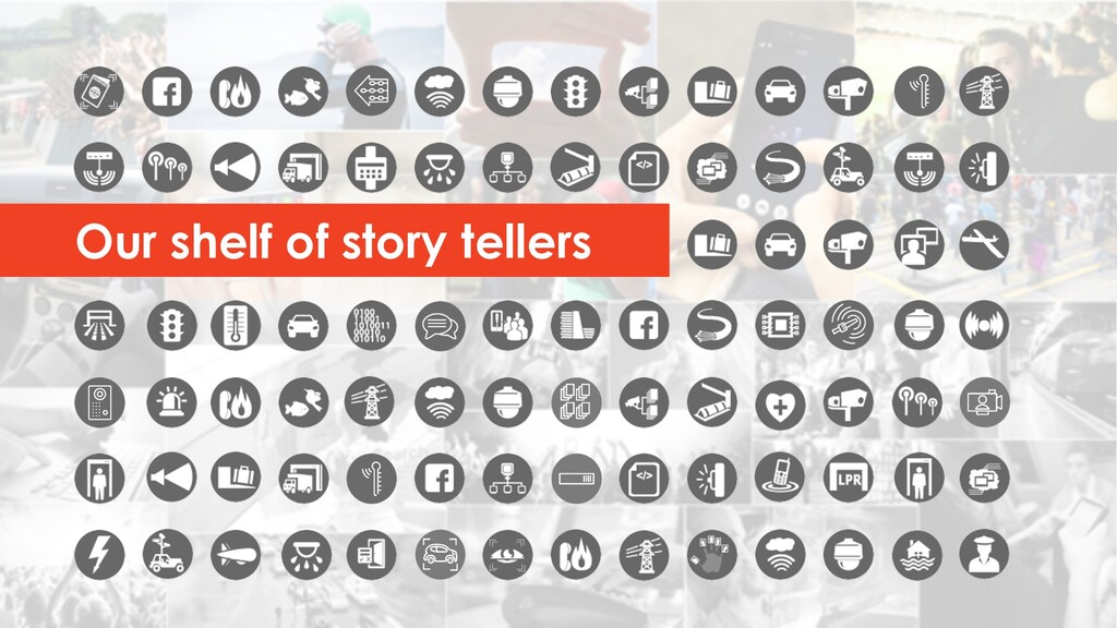Our shelf of story tellers