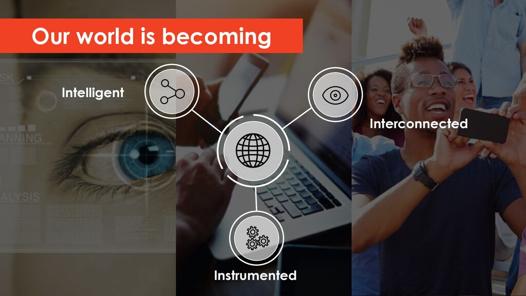 Our world is becoming Interconnected Instrument...