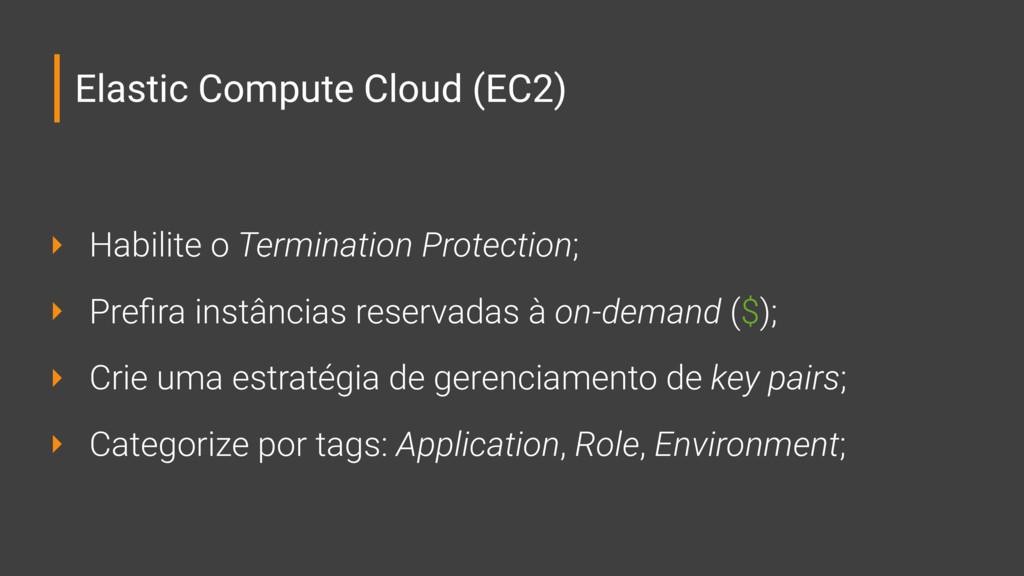 Elastic Compute Cloud (EC2) ‣ Habilite o Termin...