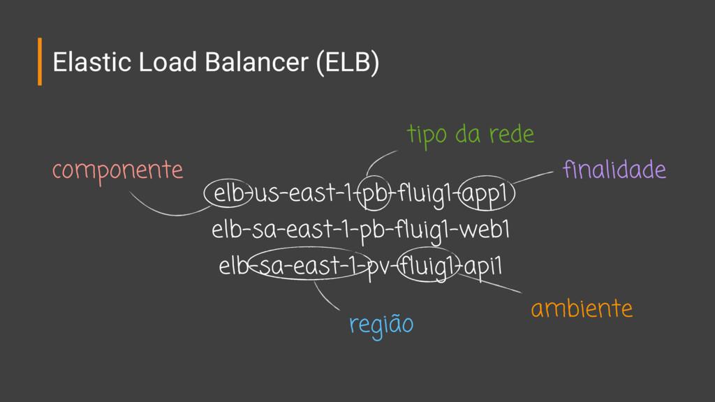 Elastic Load Balancer (ELB) elb-us-east-1-pb-fl...