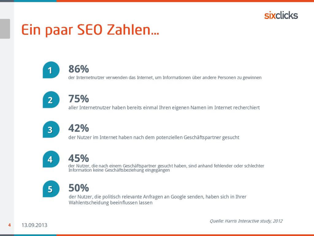13.09.2013 4 86% 1 der Internetnutzer verwenden...