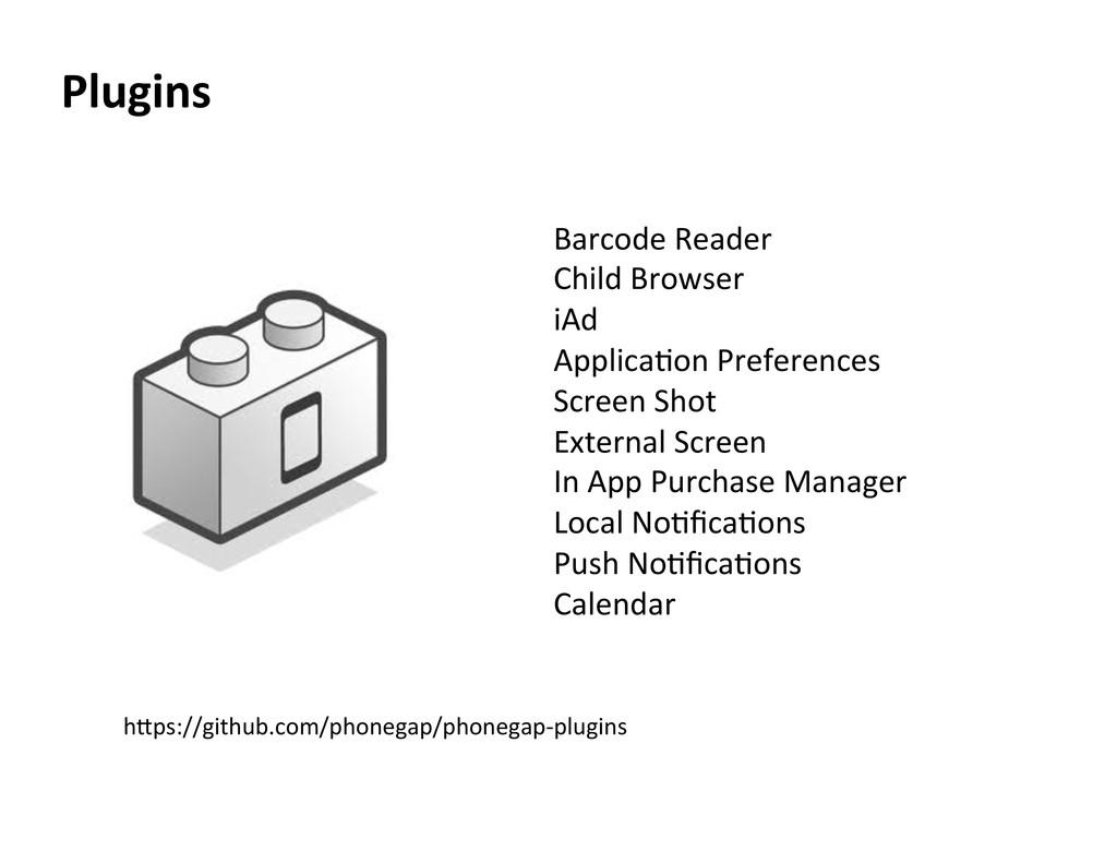 Plugins  Barcode Reader  Child Brow...
