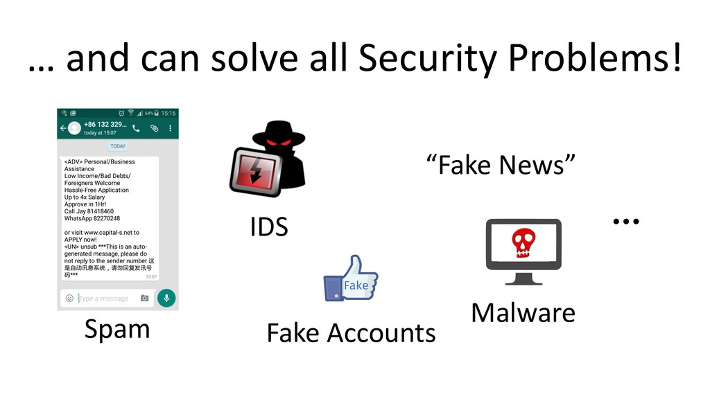… and can solve all Security Problems! Fake Spa...