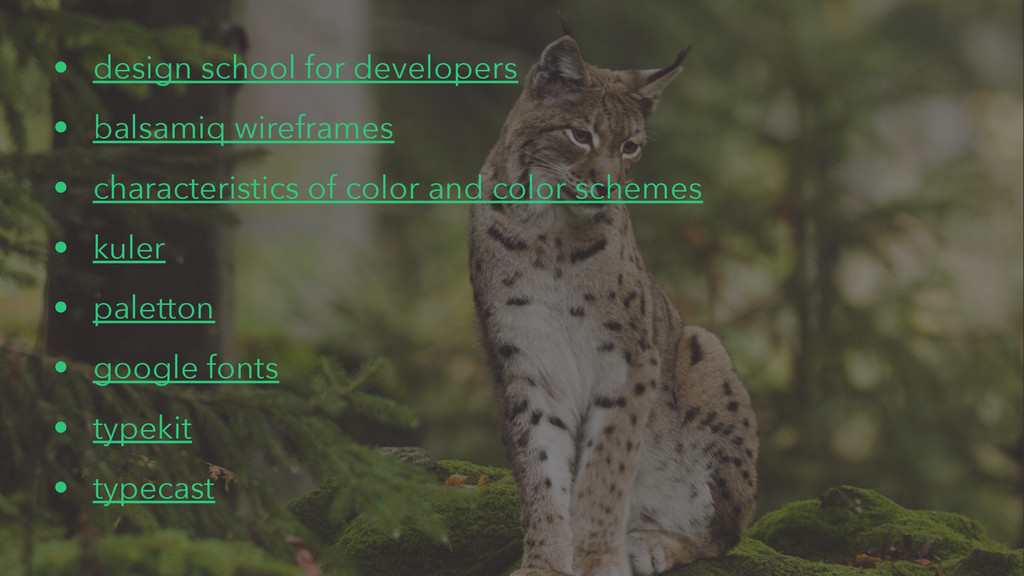 • design school for developers • balsamiq wiref...