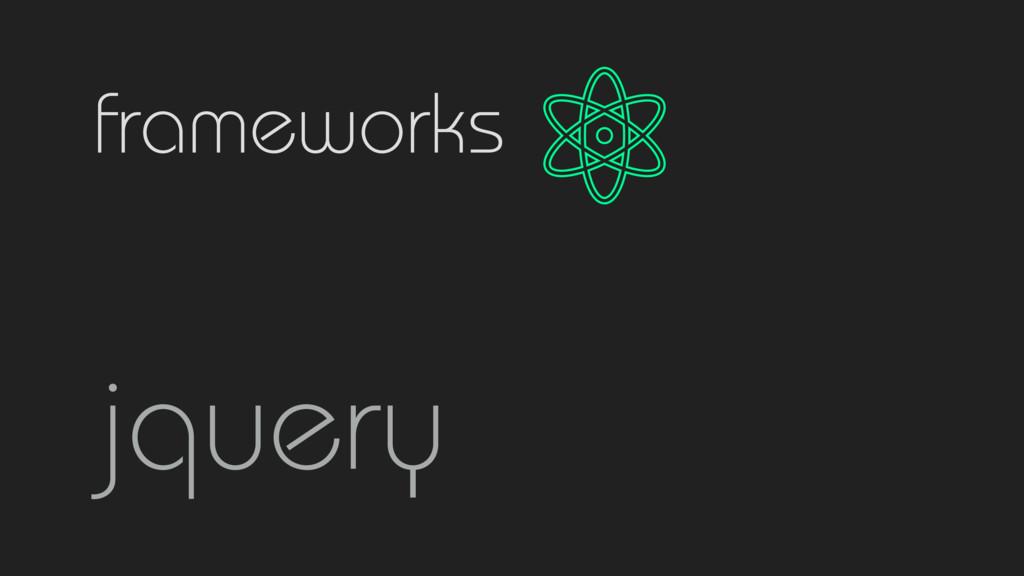 frameworks jquery