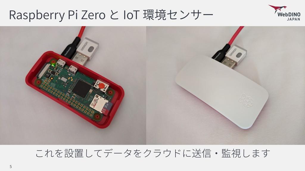 Raspberry Pi Zero IoT 5