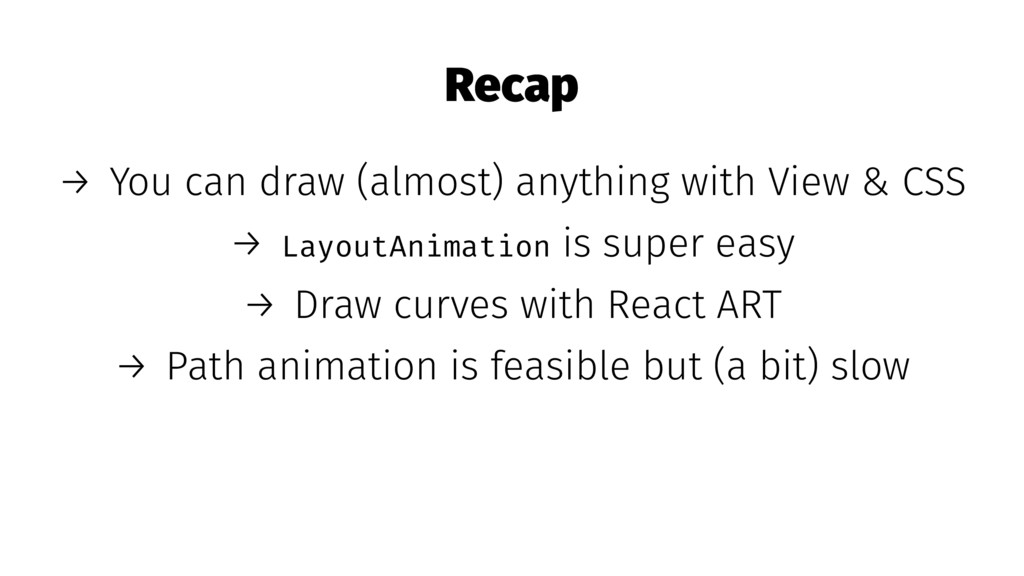 Recap → You can draw (almost) anything with Vie...