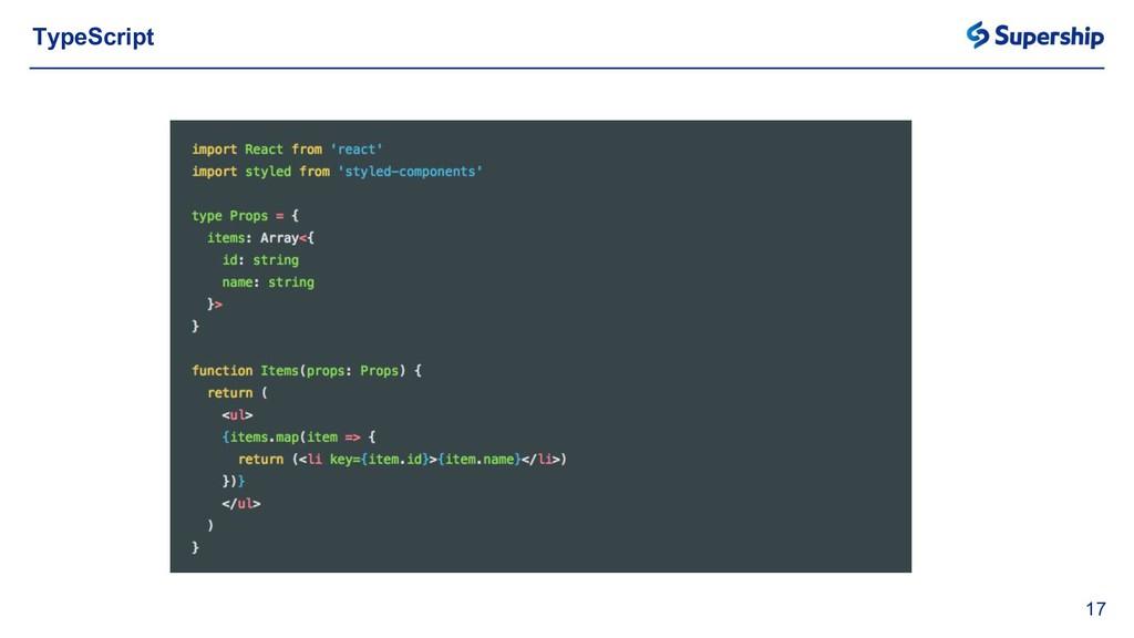 17 TypeScript