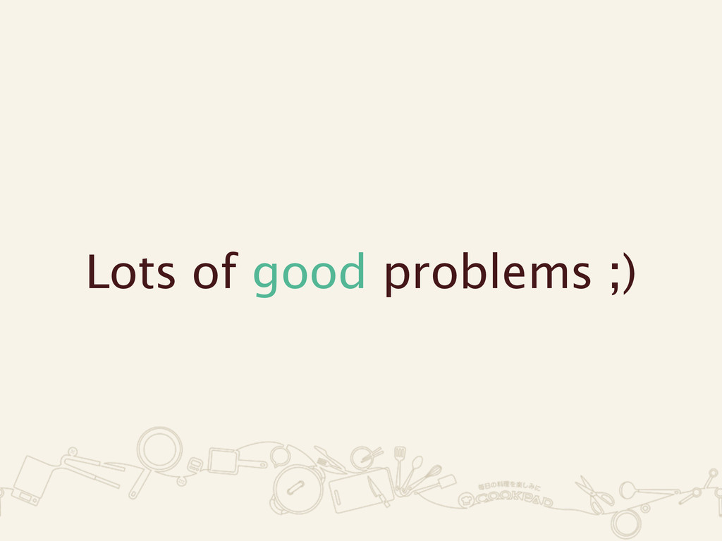 Lots of good problems ;)