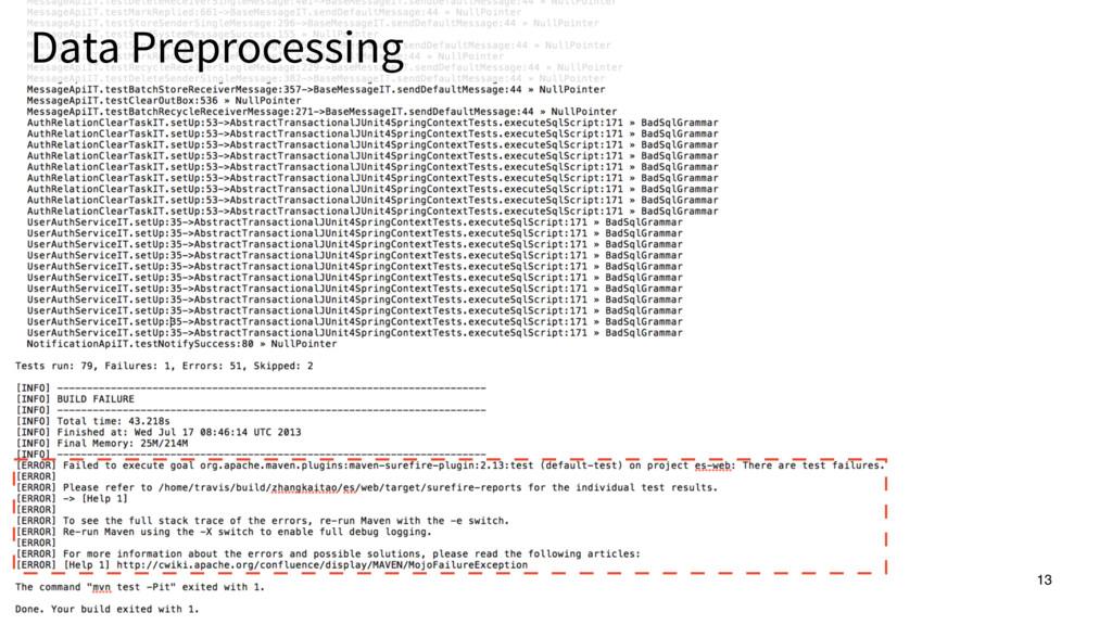 13 Data Preprocessing 13