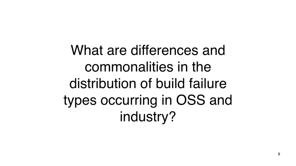 8 What are differences and commonalities in the...