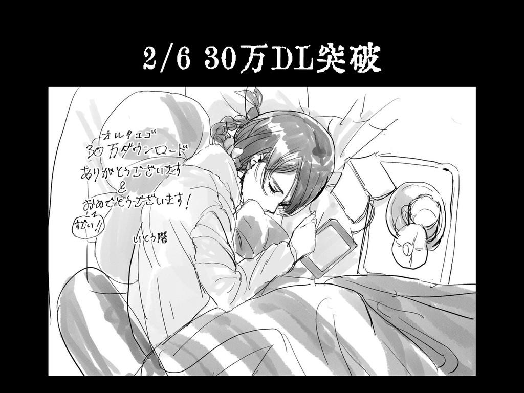 2/6 30万DL突破