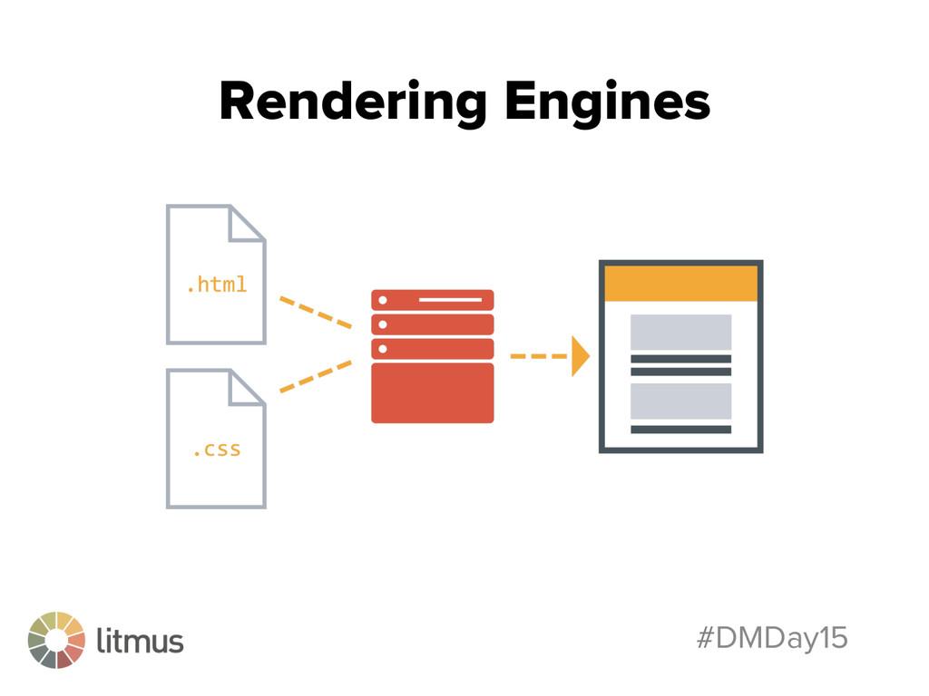#DMDay15 Rendering Engines