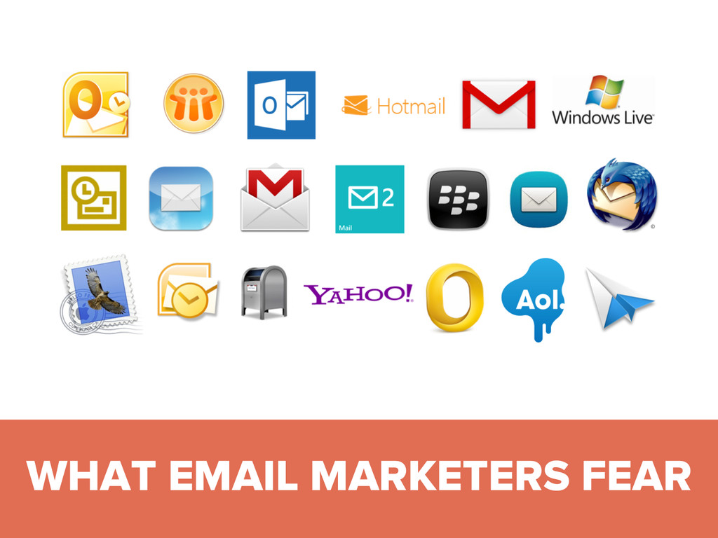 #DMDay15 WHAT EMAIL MARKETERS FEAR