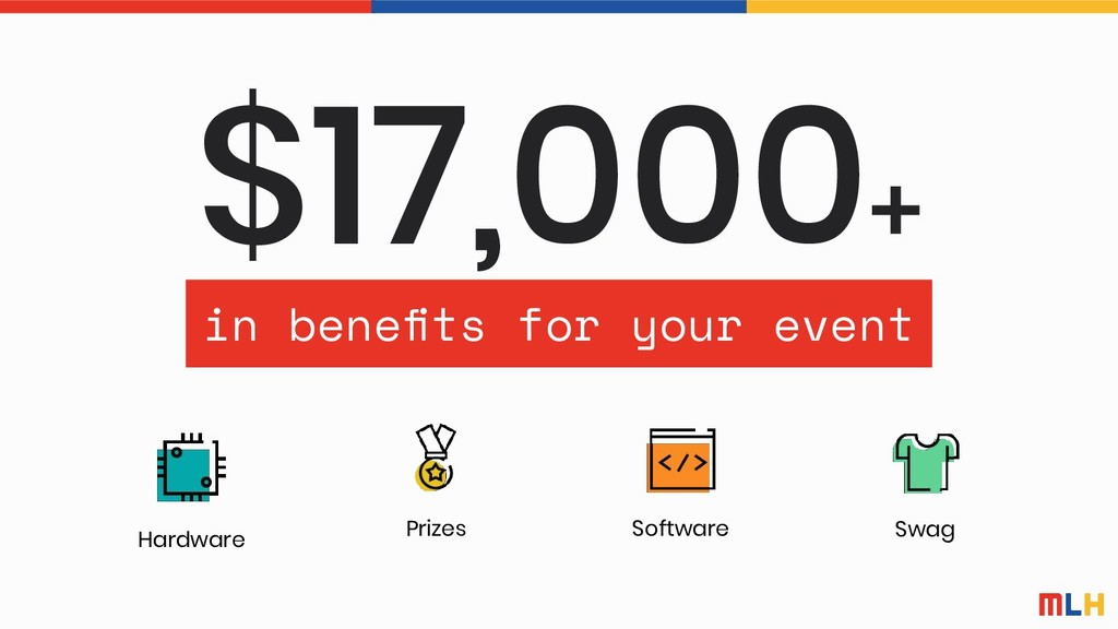 $17,000+ Hardware Software Prizes Swag in benefi...