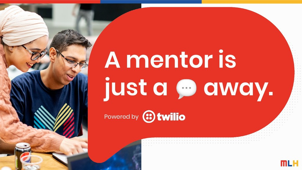 A mentor is just a away. Powered by