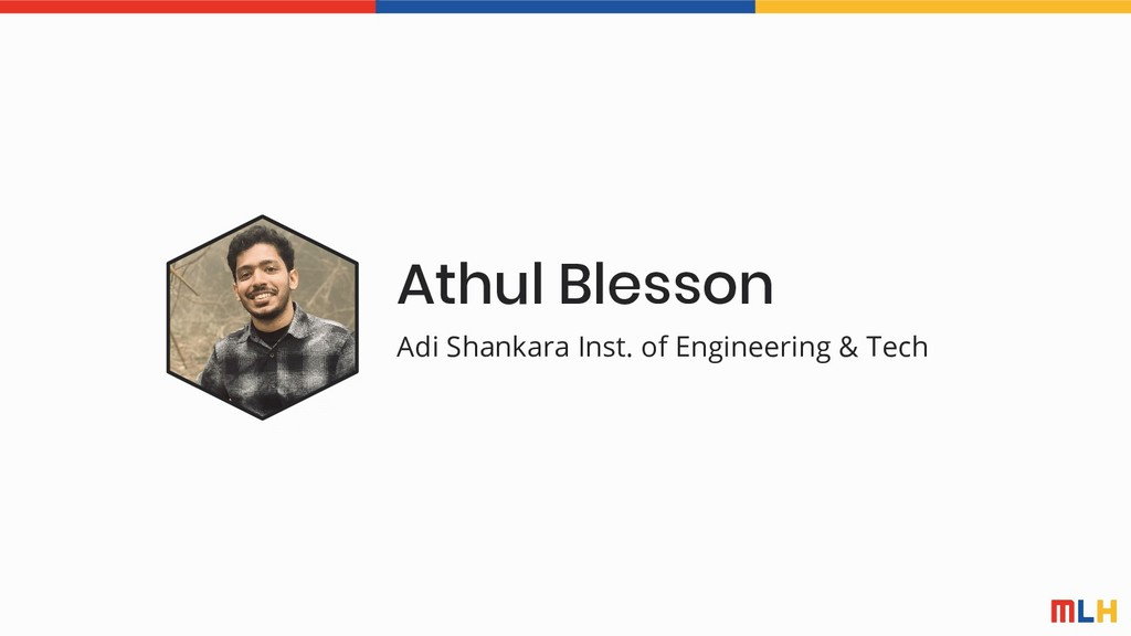 Athul Blesson Adi Shankara Inst. of Engineering...