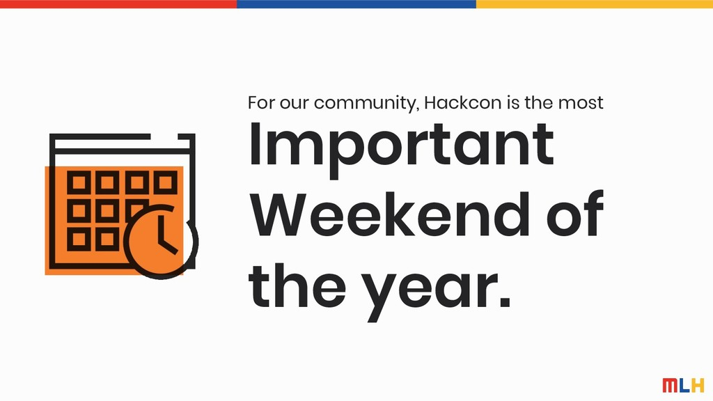 Important Weekend of the year. For our communit...