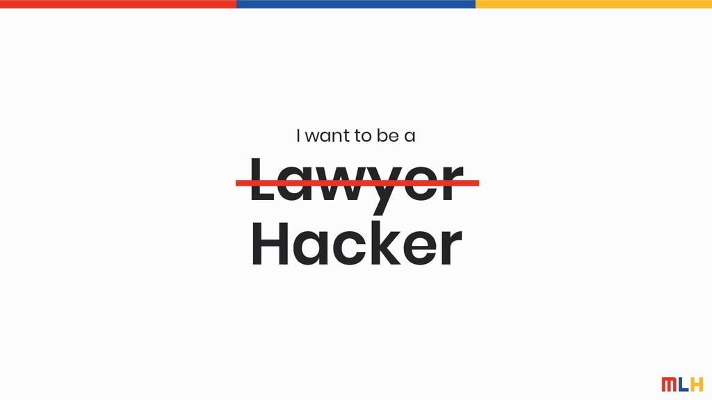 Lawyer I want to be a Hacker