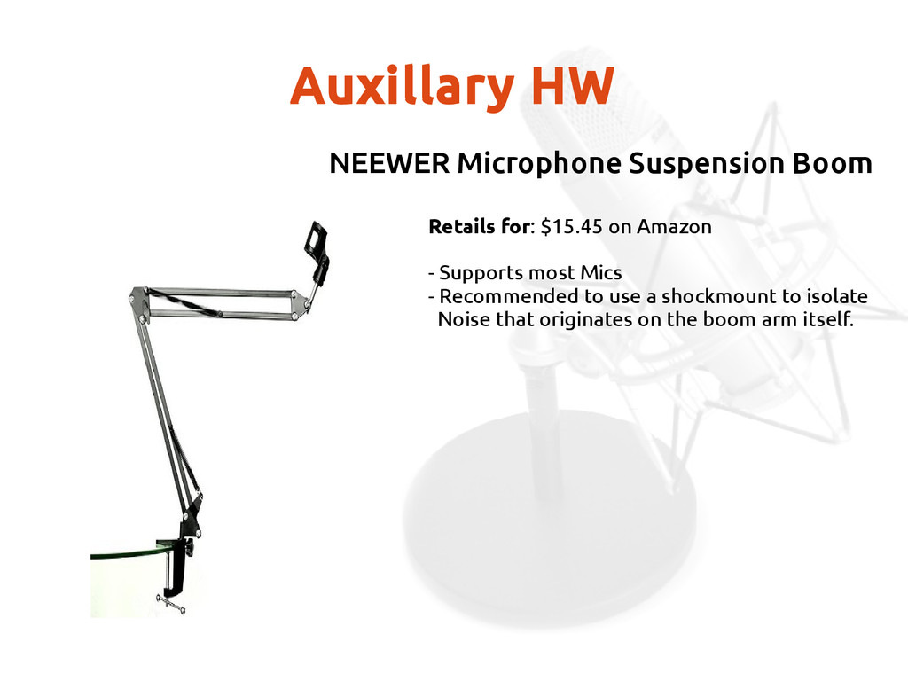 Auxillary HW Retails for: $15.45 on Amazon - Su...