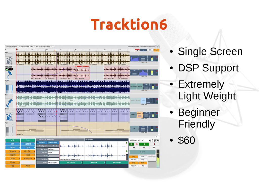 Tracktion6 ● Single Screen ● DSP Support ● Extr...