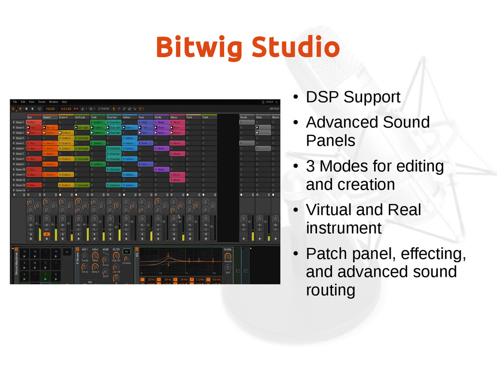 Bitwig Studio ● DSP Support ● Advanced Sound Pa...