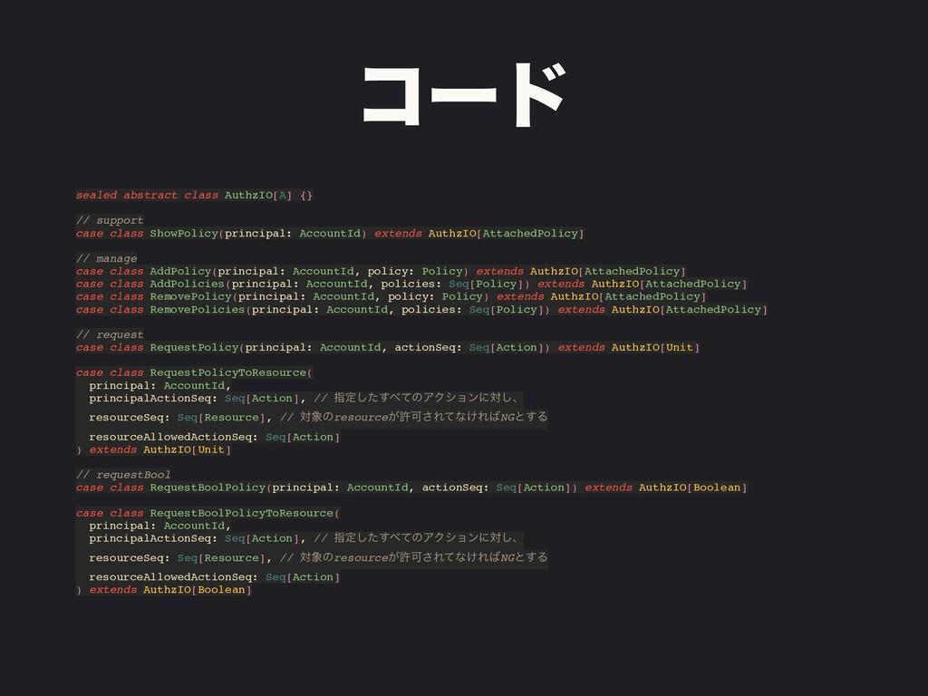 ίʔυ sealed abstract class AuthzIO[A] {} // supp...