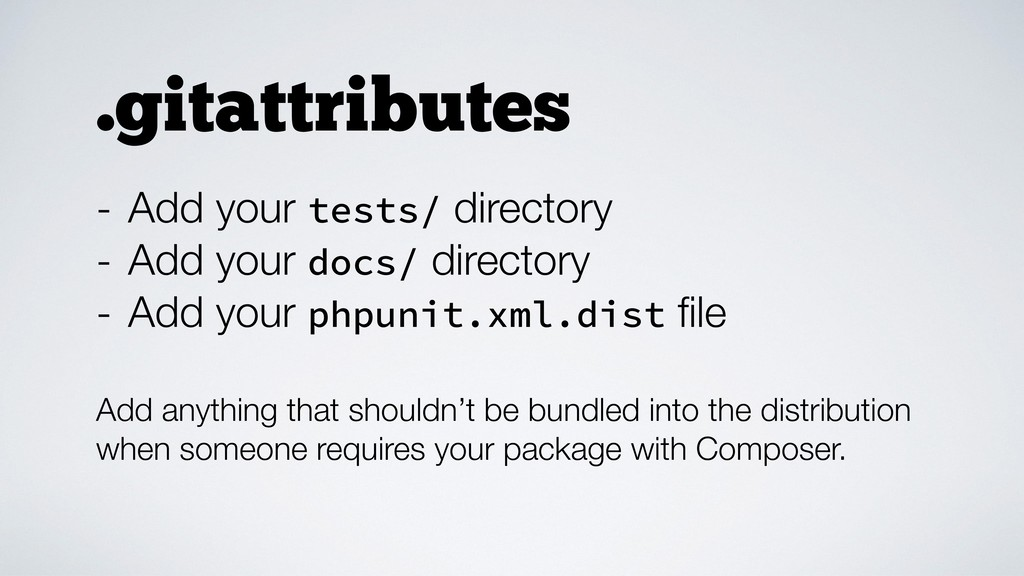 - Add your tests/ directory - Add your docs/ di...