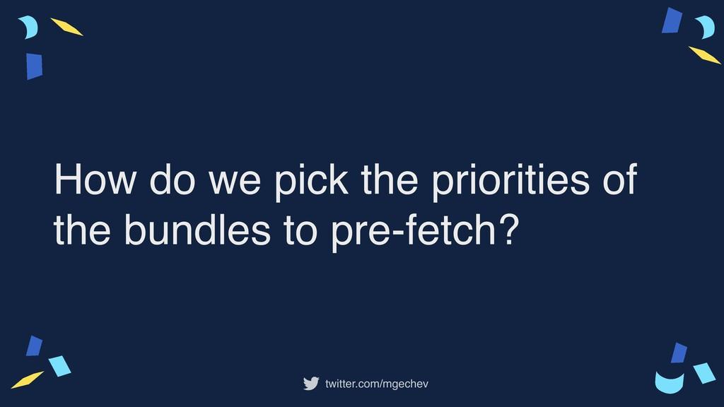 twitter.com/mgechev How do we pick the prioriti...