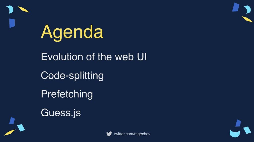 twitter.com/mgechev Evolution of the web UI Cod...