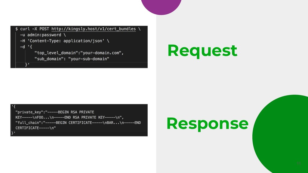 Request 11 Response