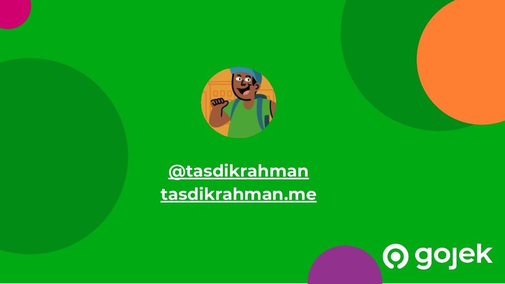 28 @tasdikrahman tasdikrahman.me