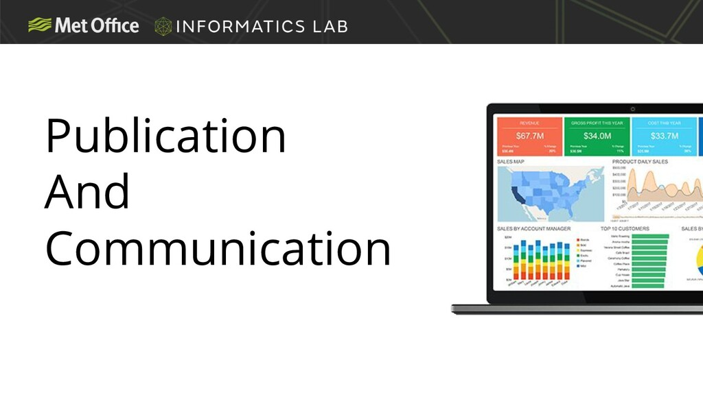 Publication And Communication