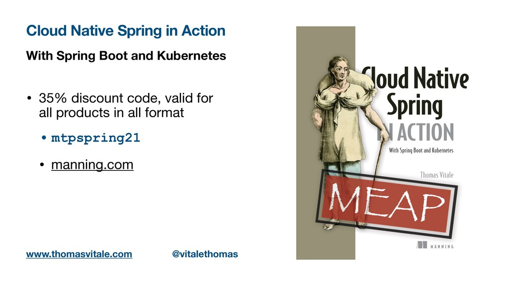 With Spring Boot and Kubernetes • 35% discount ...