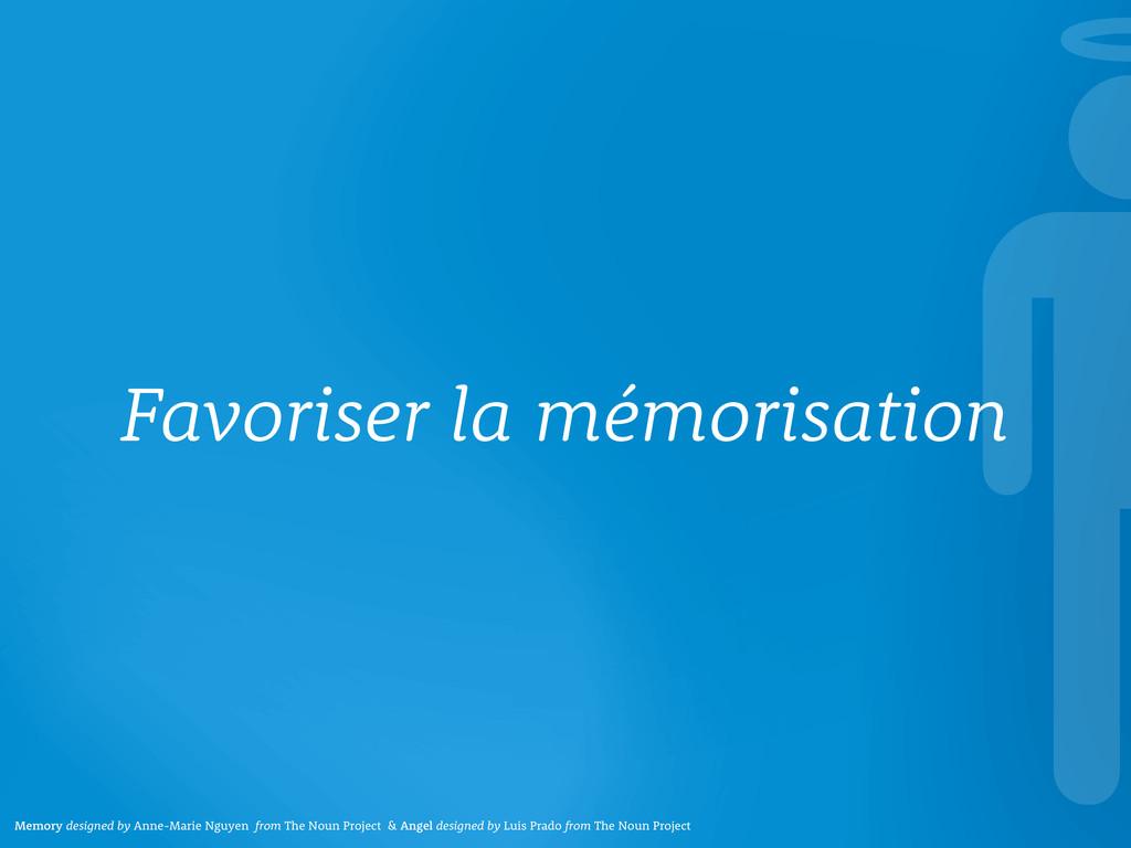 Favoriser la mémorisation Memory designed by An...
