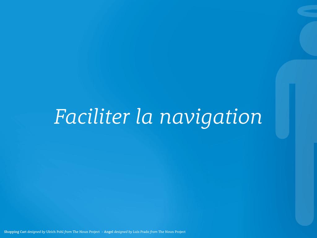 Faciliter la navigation Shopping Cart designed ...