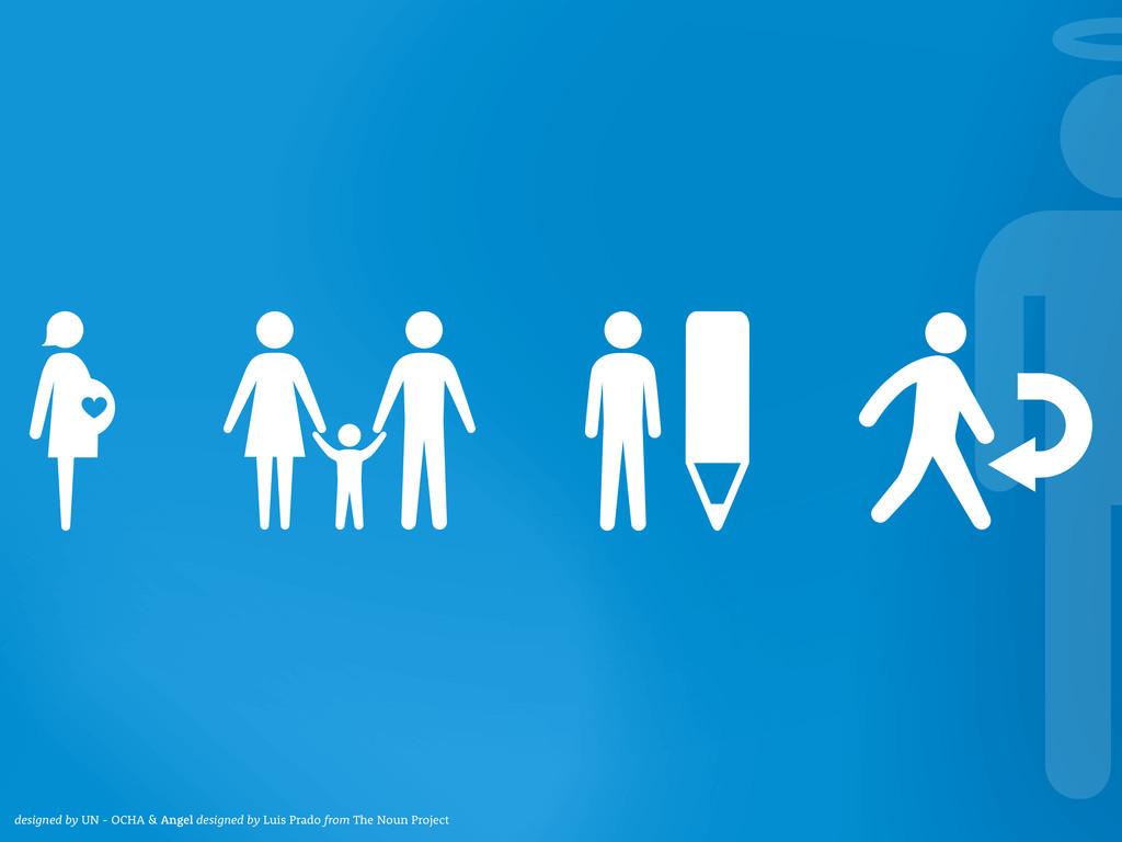 designed by UN - OCHA & Angel designed by Luis ...
