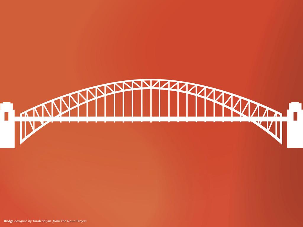 Bridge designed by Tarah Soljan from The Noun P...