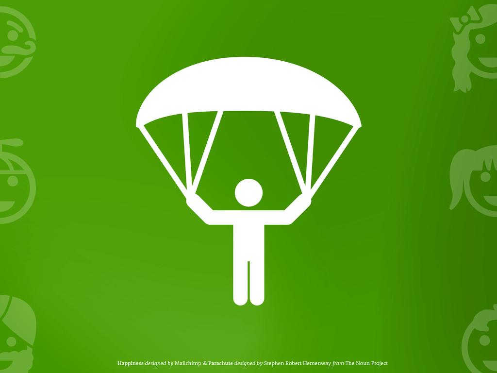 Happiness designed by Mailchimp & Parachute des...