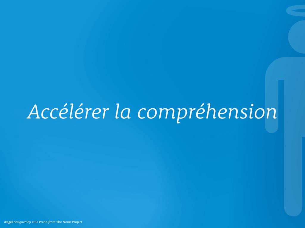 Accélérer la compréhension Angel designed by Lu...